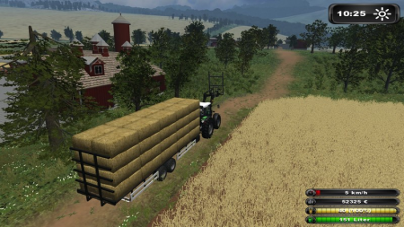 Bales Tandem Trailer With New Attach Function V 1.0