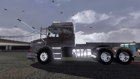 Scania Truck Driving Simulator    Trucks STDS