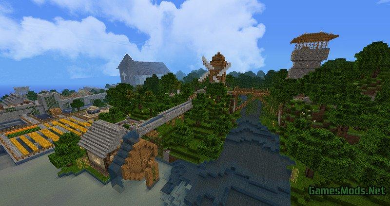 Castle v 1 0 minecraft minecraft mods