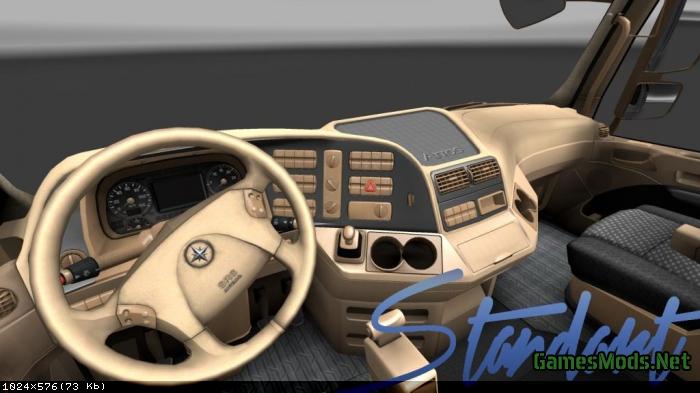 Benz Truck 2017 >> Mercedes-Benz Actros Interior skin » GamesMods.net - FS17, CNC, FS15, ETS 2 mods