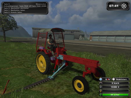 Agricultural Tractors RS 09/124 V 5 - Dachversion