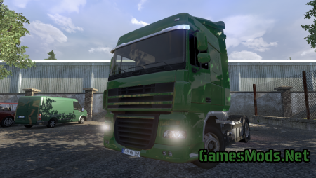 "Daf XF 105 ""BETA"" By Senior Sancho"