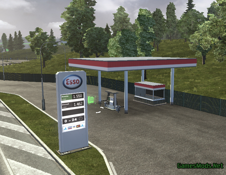 Real Gas Stations » GamesMods.net - FS17, CNC, FS15, ETS 2 ...