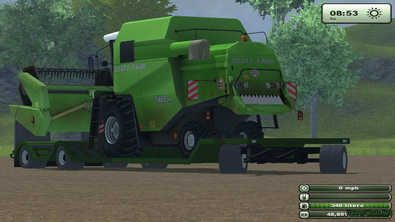Farming Simulator 2013 Truck Mods Trailer