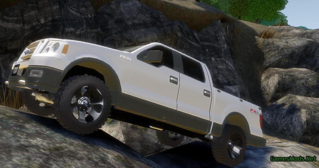 2018 Ford F150 Interior >> Ford F150 FX4 OffRoad v2.0 » GamesMods.net - FS17, CNC, FS15, ETS 2 mods