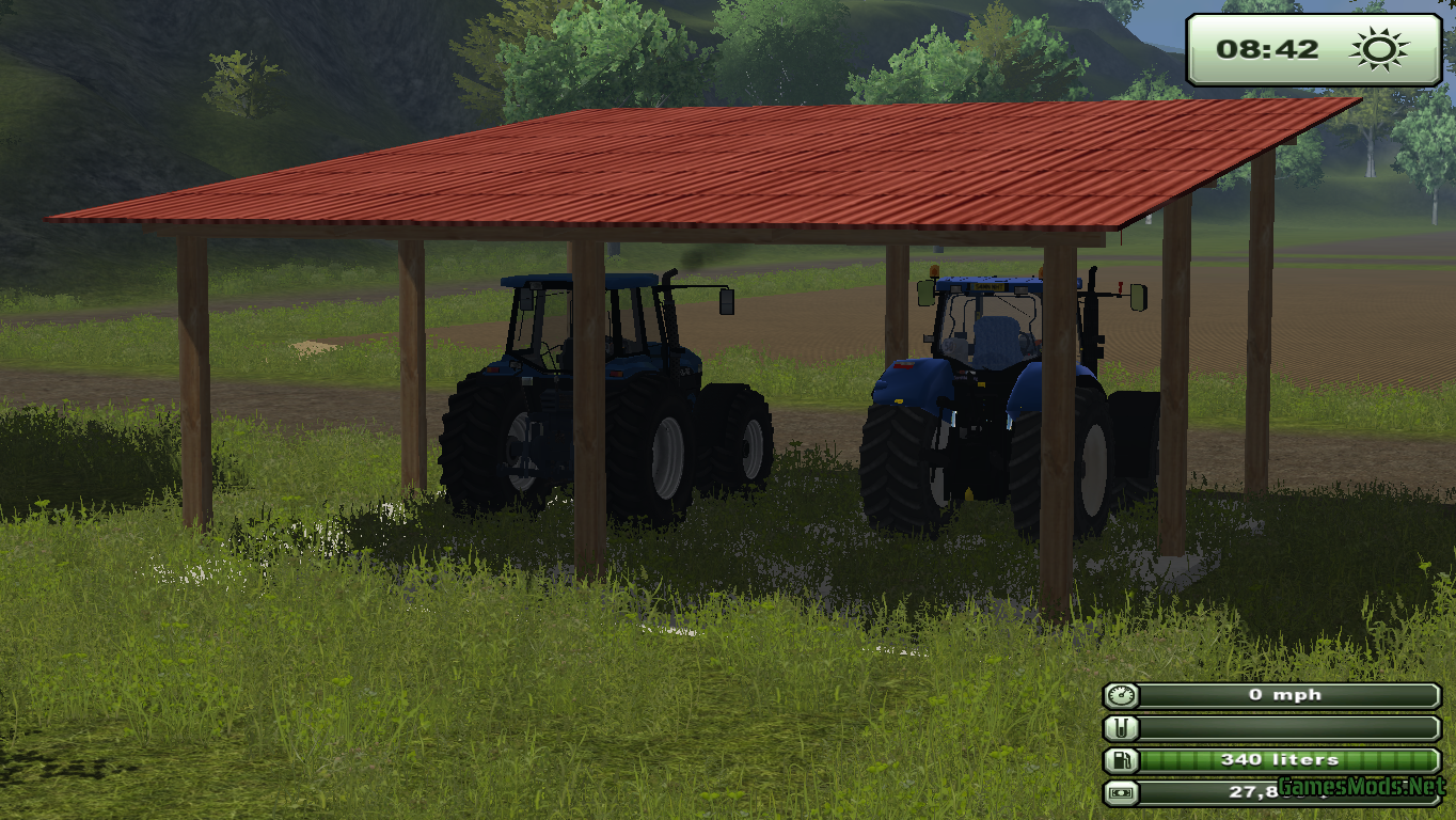 Small Tractor Shelters : Small shelter gamesmods fs cnc ets mods
