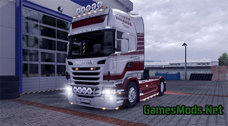 Scania R reworked