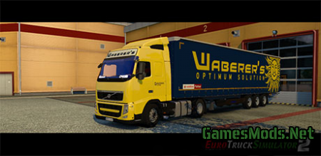 Volvo FH Waberer's Combo BETA