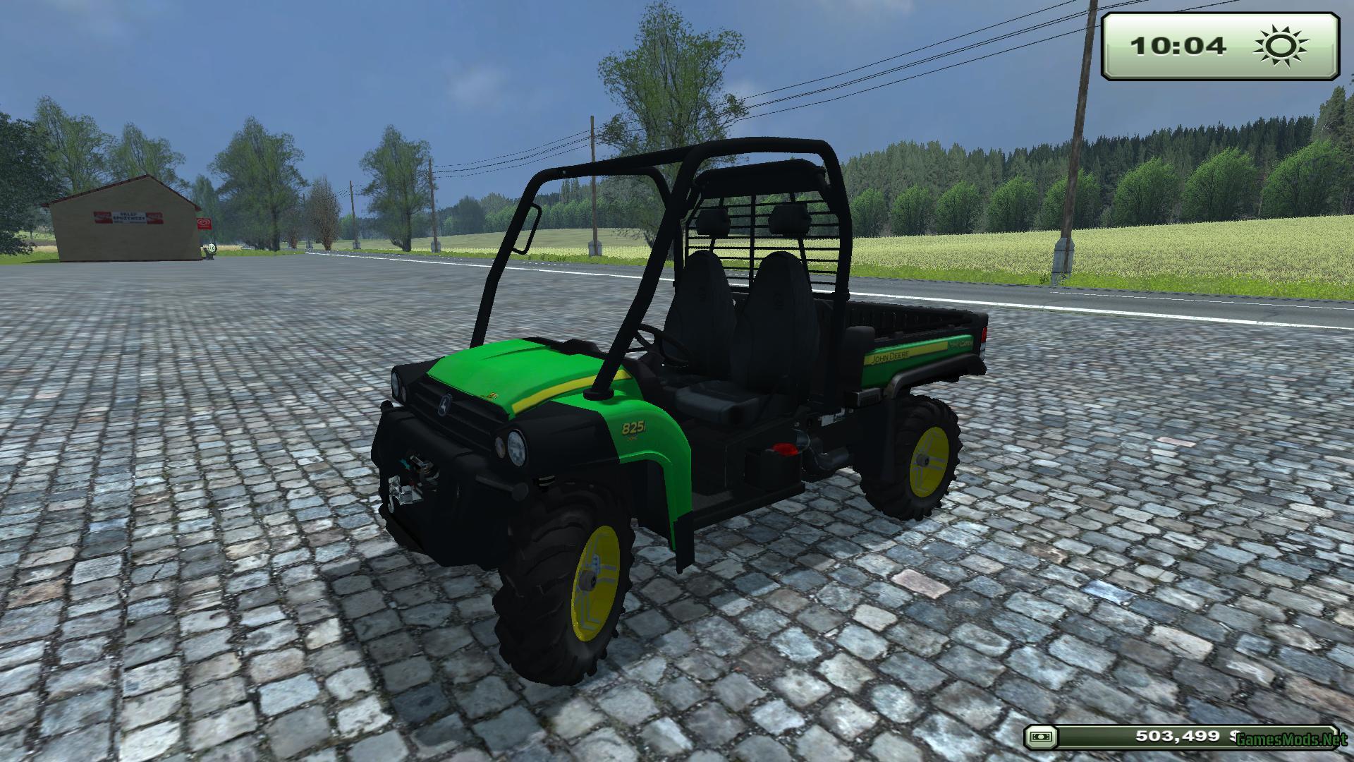 John Deere Gator 825 v1.0