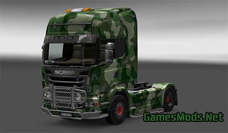 Scania Camouflage skin