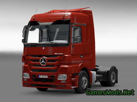 Mercedes Actros 2009 Real Logo Mod HQ