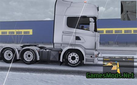 Scania Low Rider mod
