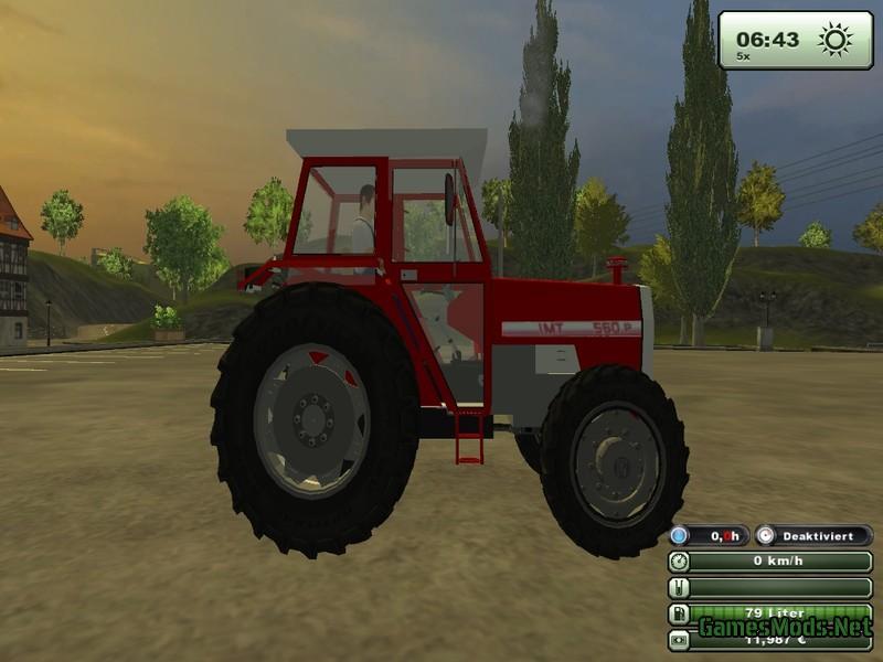 IMT 560 Deluxe Tractor
