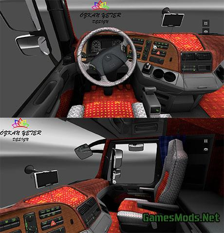 Mercedes benz pearl interior fs17 cnc for Interior parts for mercedes benz