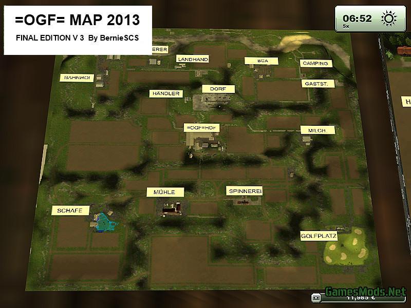 John Deere 2019 >> OGF MAP V 3.0 FINAL » GamesMods.net - FS17, CNC, FS15, ETS 2 mods