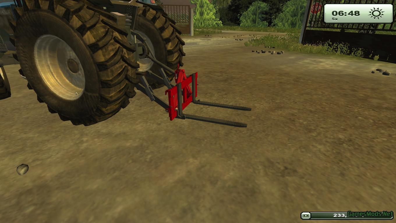 Homemade pallet forks v 1.0 Beta MP
