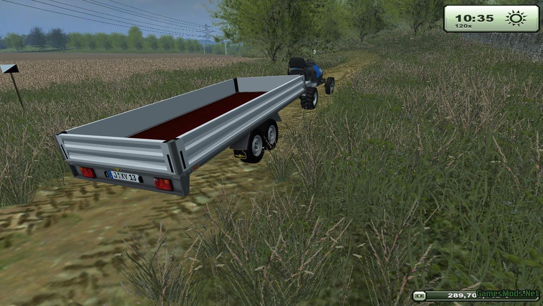 Humbaur Trailer V 1 1 Mp 187 Gamesmods Net Fs19 Fs17 Ets