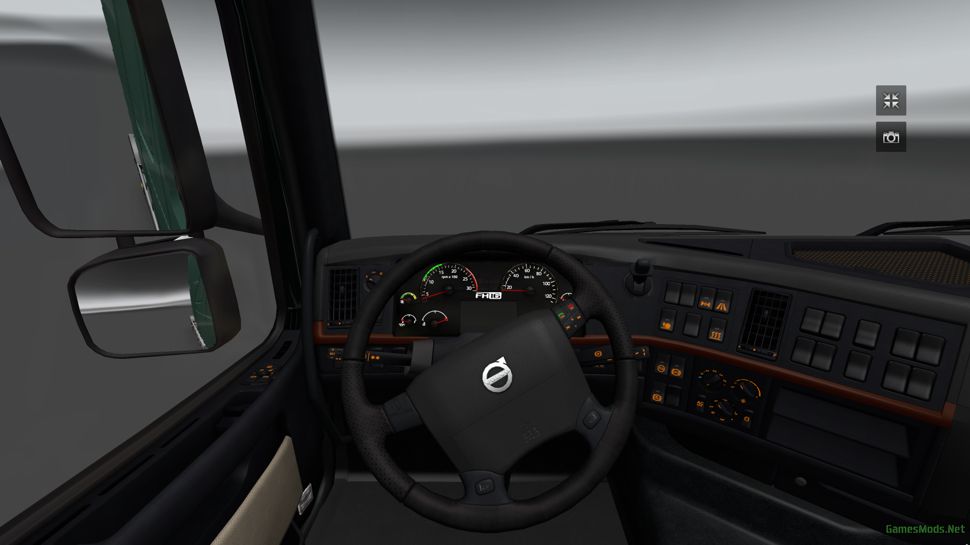 Interior: Volvo Brown/black Interior » GamesMods.net