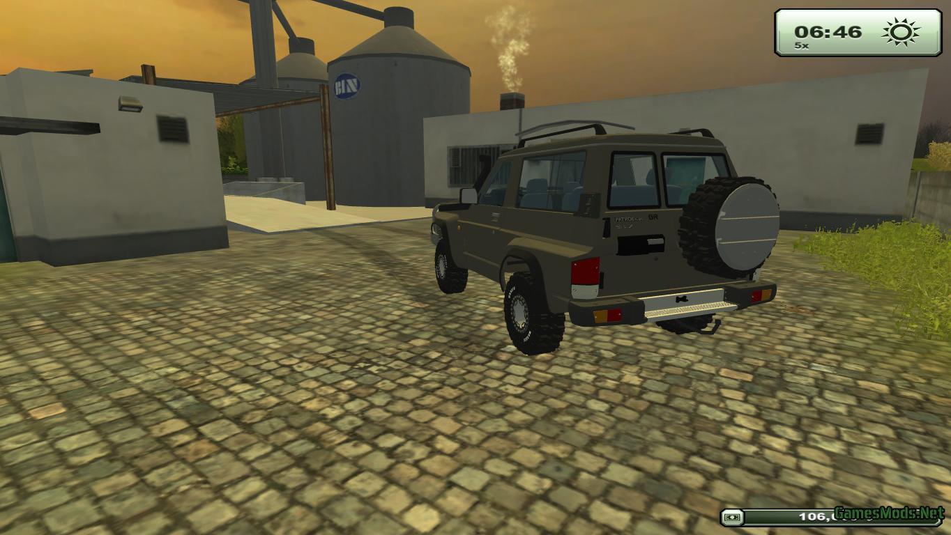Nissan Patrol 2019 >> Nissan Patrol GR v 1 » GamesMods.net - FS19, FS17, ETS 2 mods