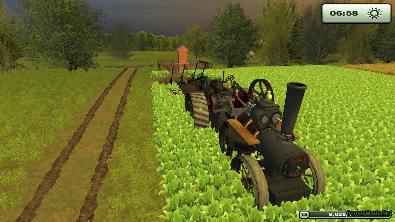Steamengine Pack » GamesMods.net - FS19, FS17, ETS 2 mods
