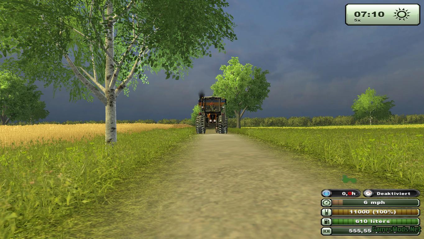 Claas Xerion 3800 SaddleTrac v 1 Winter Kommunal » GamesMods.net - FS19, FS17, ETS 2 mods