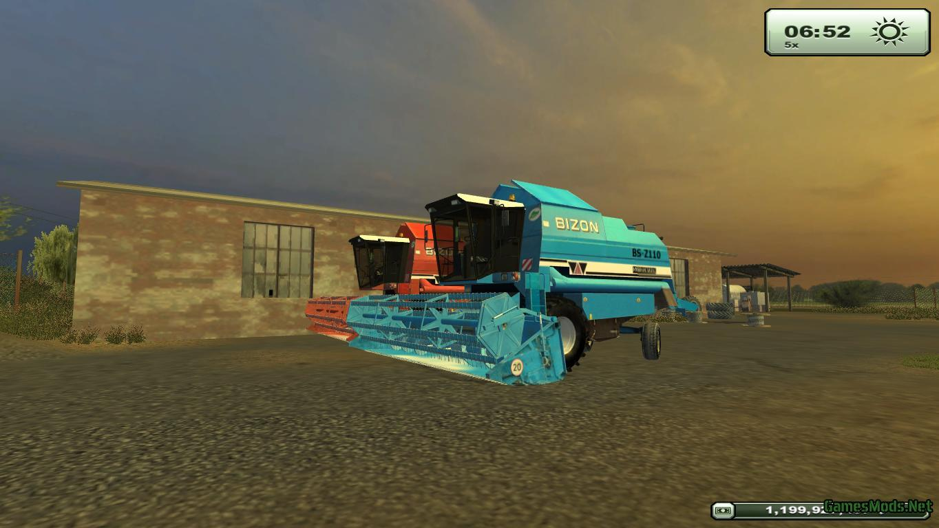 Bizon BS Z110 Pack » GamesMods net - FS19, FS17, ETS 2 mods