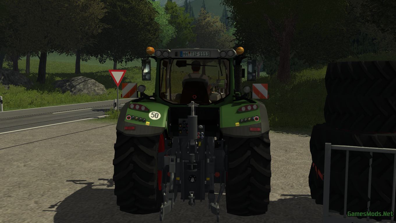 Fendt Vario 724 Scr Standard For Green Ls13 From Tif And