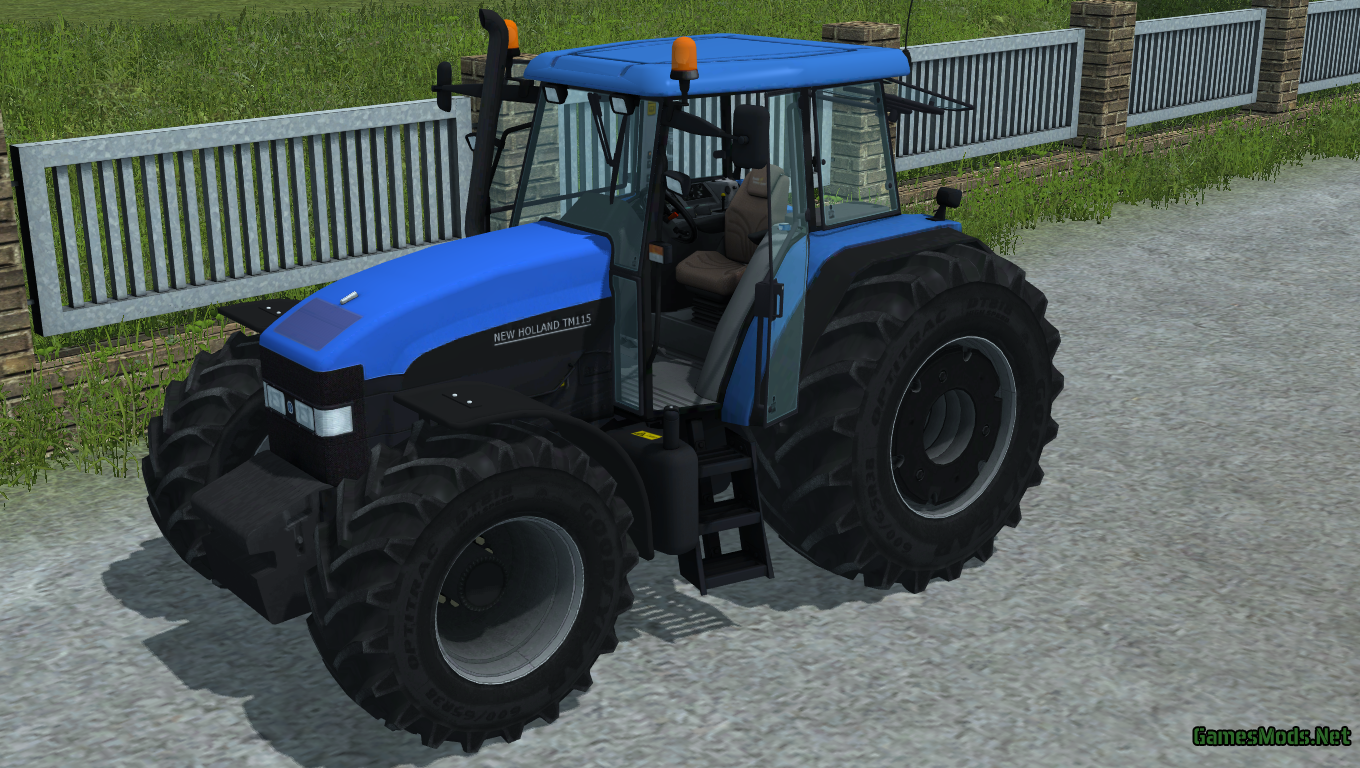 New Holland TM 115 V1