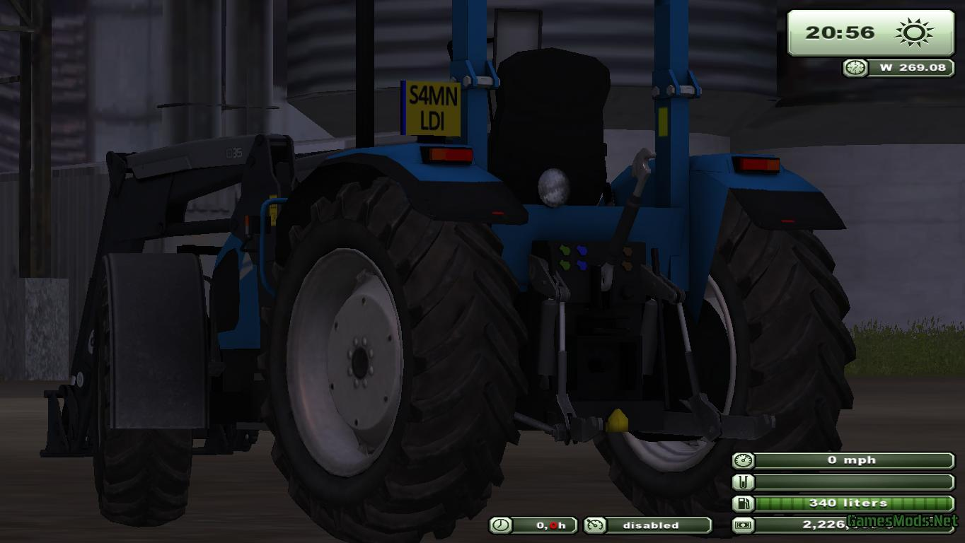 Landini Powerfarm 85 187 Gamesmods Net Fs19 Fs17 Ets 2 Mods