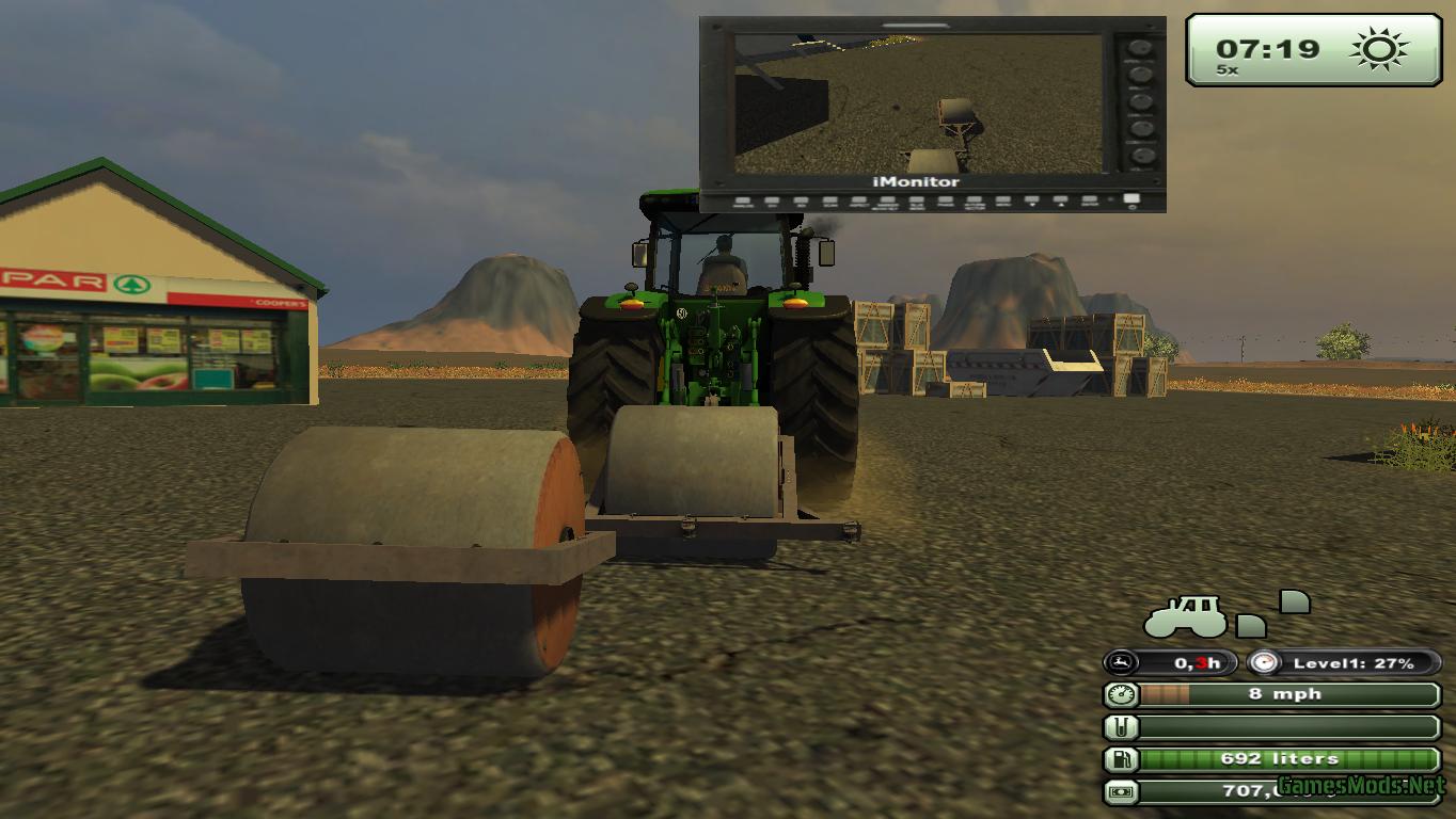Lawn Roller V 1 187 Gamesmods Net Fs19 Fs17 Ets 2 Mods