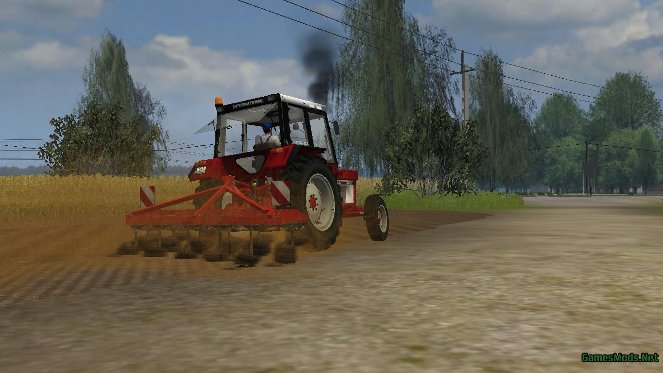 John Deere 318 >> Quivogne Tiller T11 » GamesMods.net - FS19, FS17, ETS 2 mods