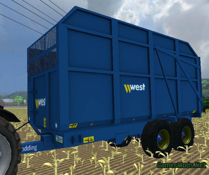 West Silage Trailer By SamN » GamesMods.net