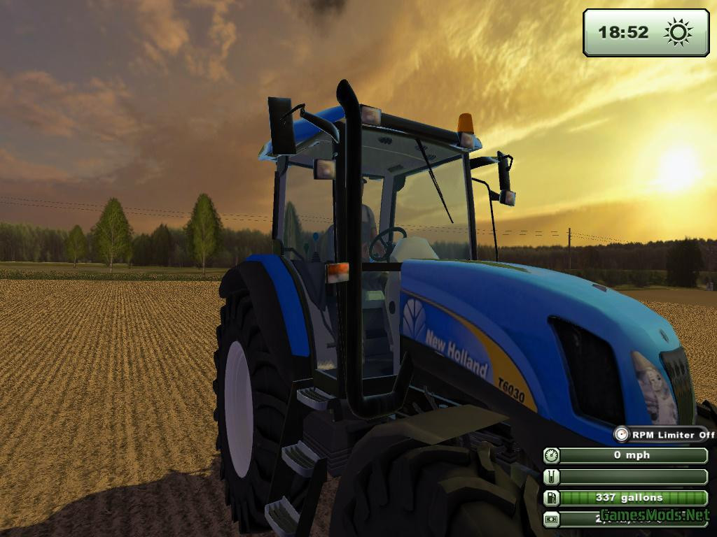 new holland t6030  u00bb gamesmods net