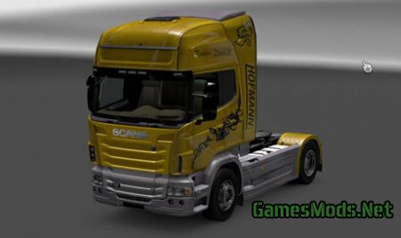 Scania Hofmann Rubber Duck 2 Skin