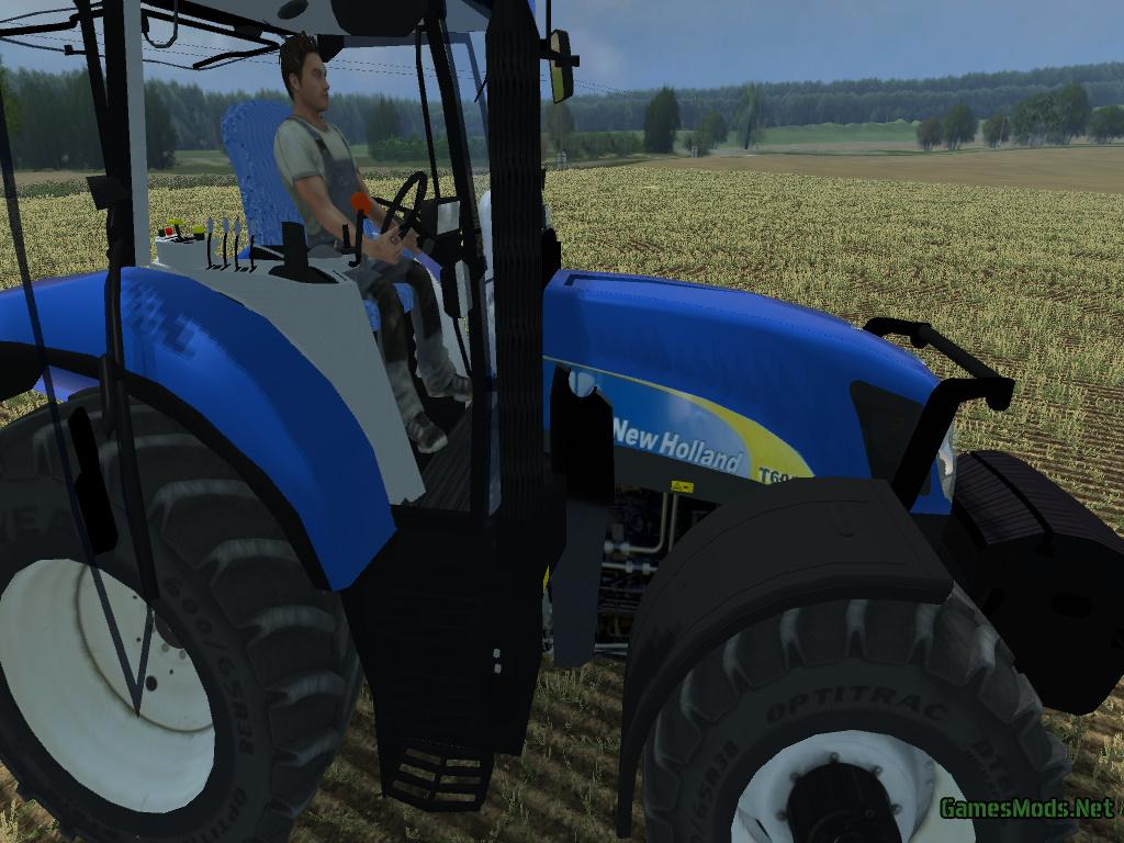 New Holland 6050 Frontloader 187 Gamesmods Net Fs19