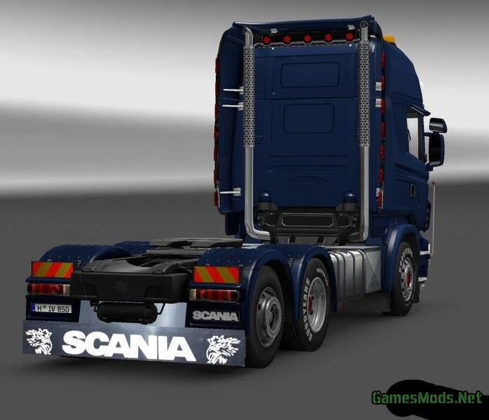Mud Flaps For Scania Trucks 187 Gamesmods Net Fs19 Fs17
