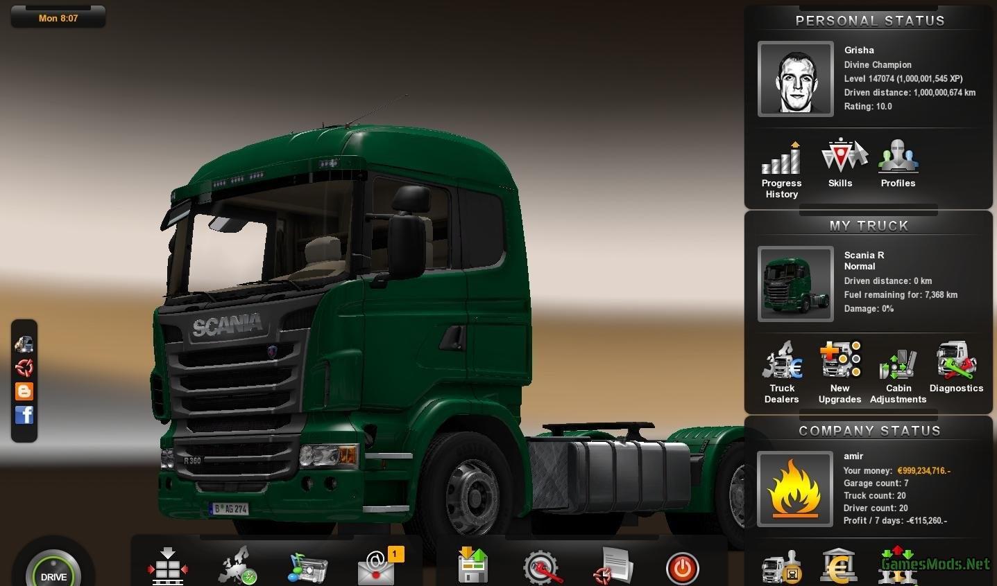 save game euro truck simulator 2   Gameswalls org