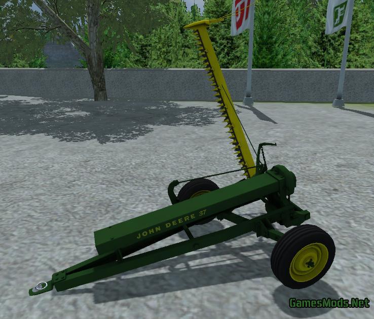 John Deere 214 >> Small Farming Pack » GamesMods.net - FS19, FS17, ETS 2 mods