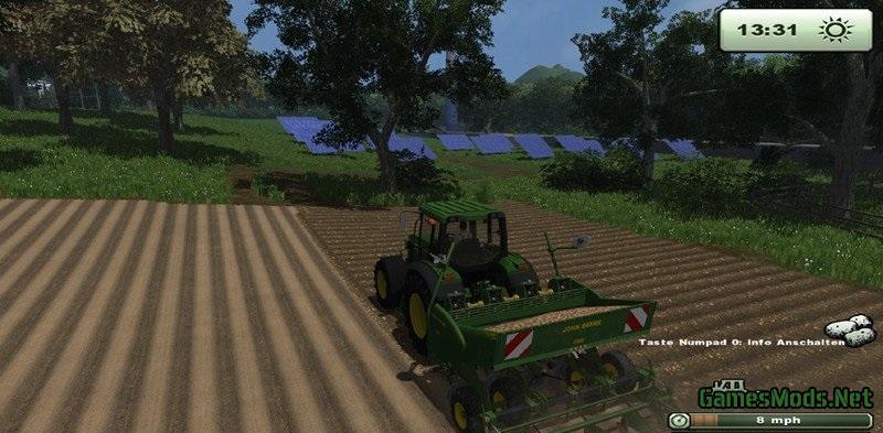 John Deere Potato Planter V