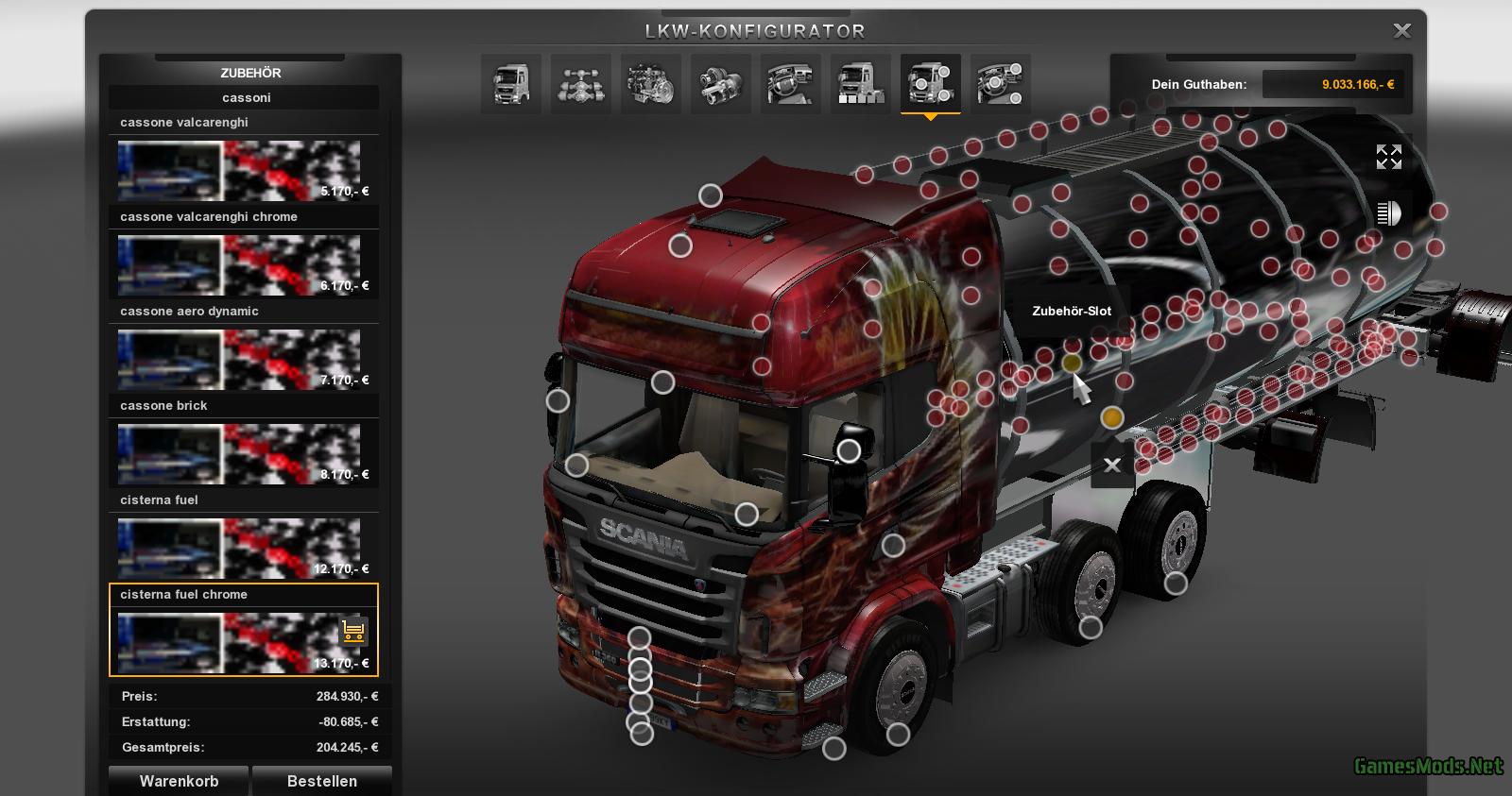 Scania Extrem Tuning Shop Version V2 0 187 Gamesmods Net
