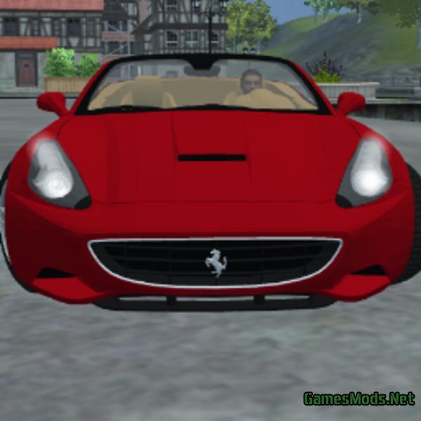 Ferrari California V 1.0 Mp » GamesMods.net