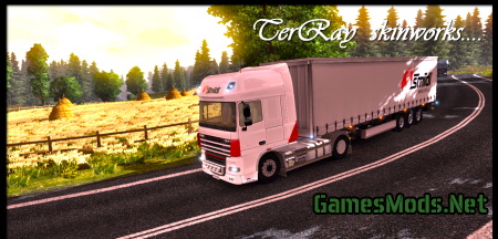 DAF XF + Trailer
