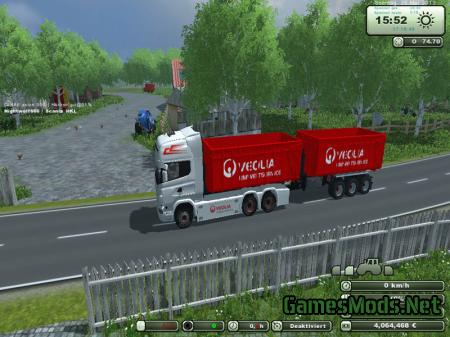 Scania V8 HKL Pack v 1.0 Beta