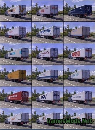 TRAILER PACK with Realistic Textures v1.7.9