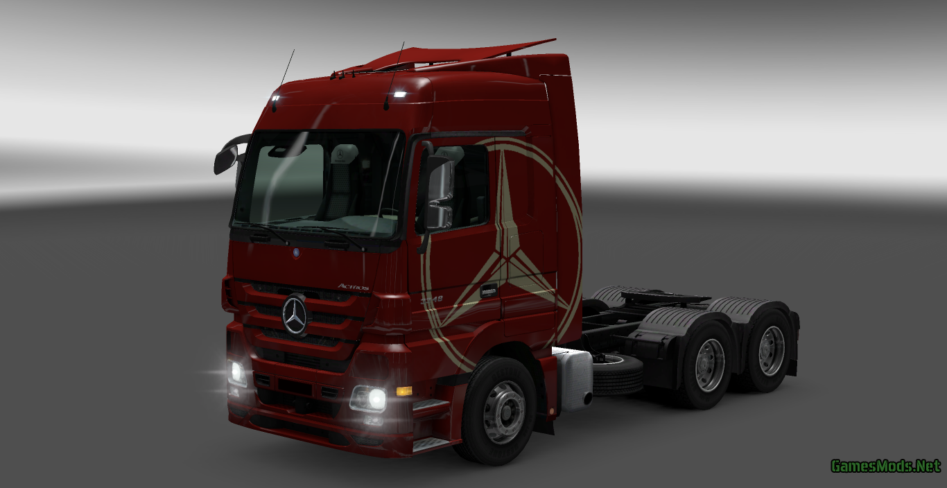 New Holland Parts >> Mercedes Benz AXOR & ACTROS TUNING PACK » GamesMods.net ...