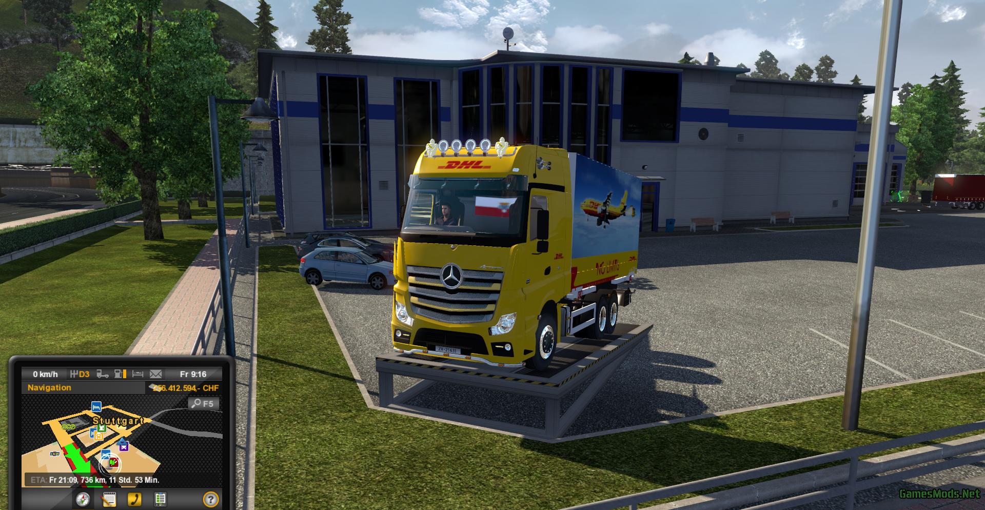 Euro truck simulator 2 home page 16
