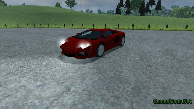 Lamborghini Aventador LP700 4 v1 0 » GamesMods net - FS19