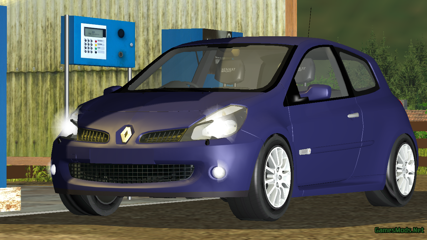 renault clio rs v 1 0 fs17 cnc fs15 ets 2 mods. Black Bedroom Furniture Sets. Home Design Ideas
