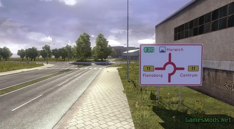 Map Skandinavien Edition Promods v 1 0 » GamesMods net