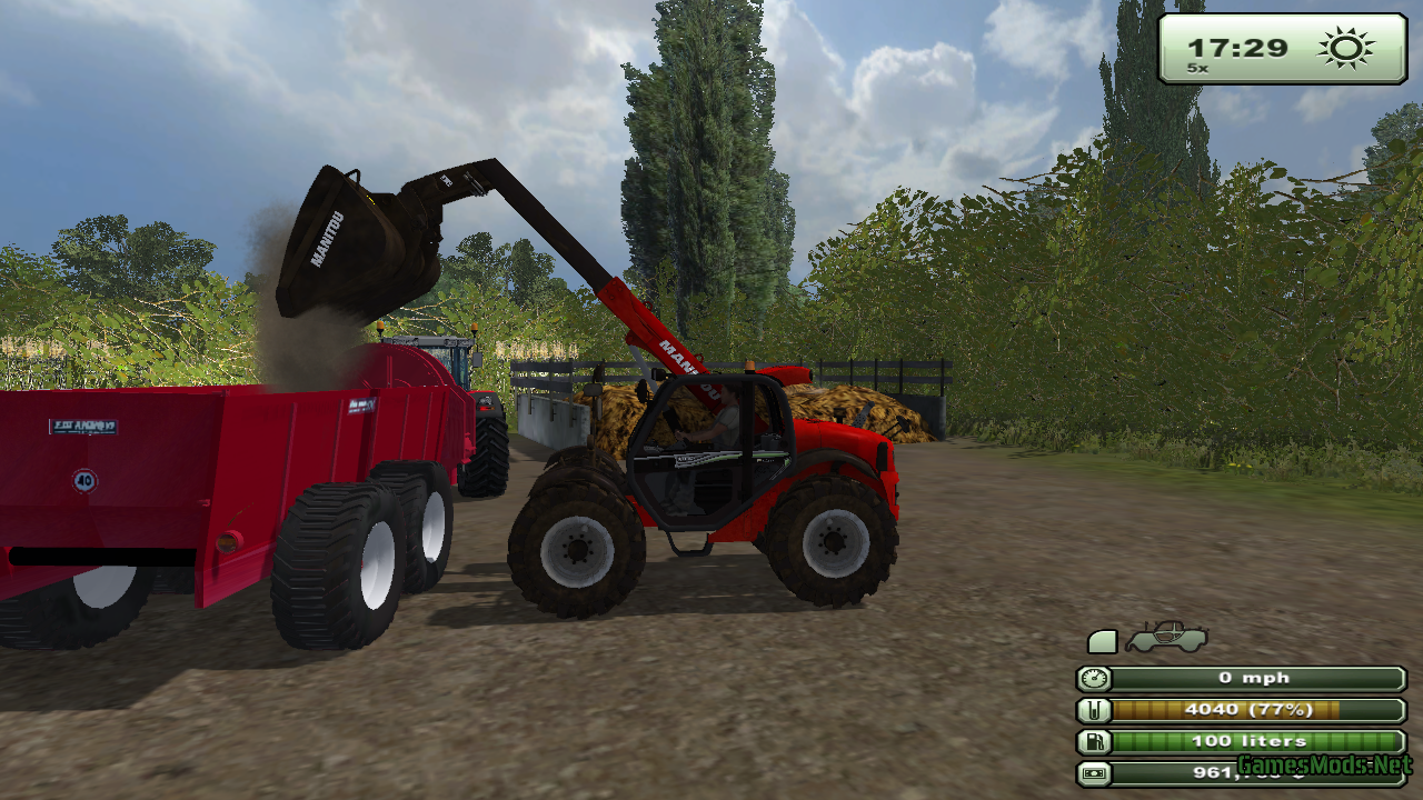 Farming Simulator 2013 Manure Spreader